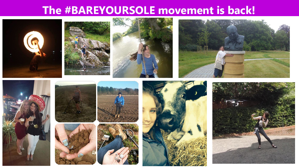 #BareYourSole and Be Happy in 2017!