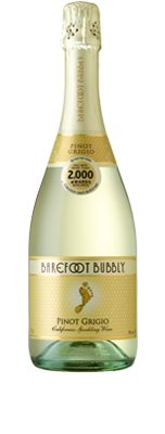 Barefoot Bubbly Pinot Grigio Wine