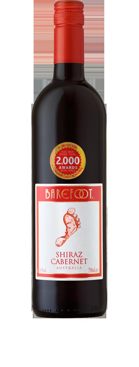 Barefoot Shiraz Cabernet wine