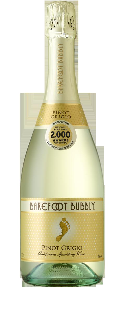 Barefoot Bubbly Pinot Grigio Wine